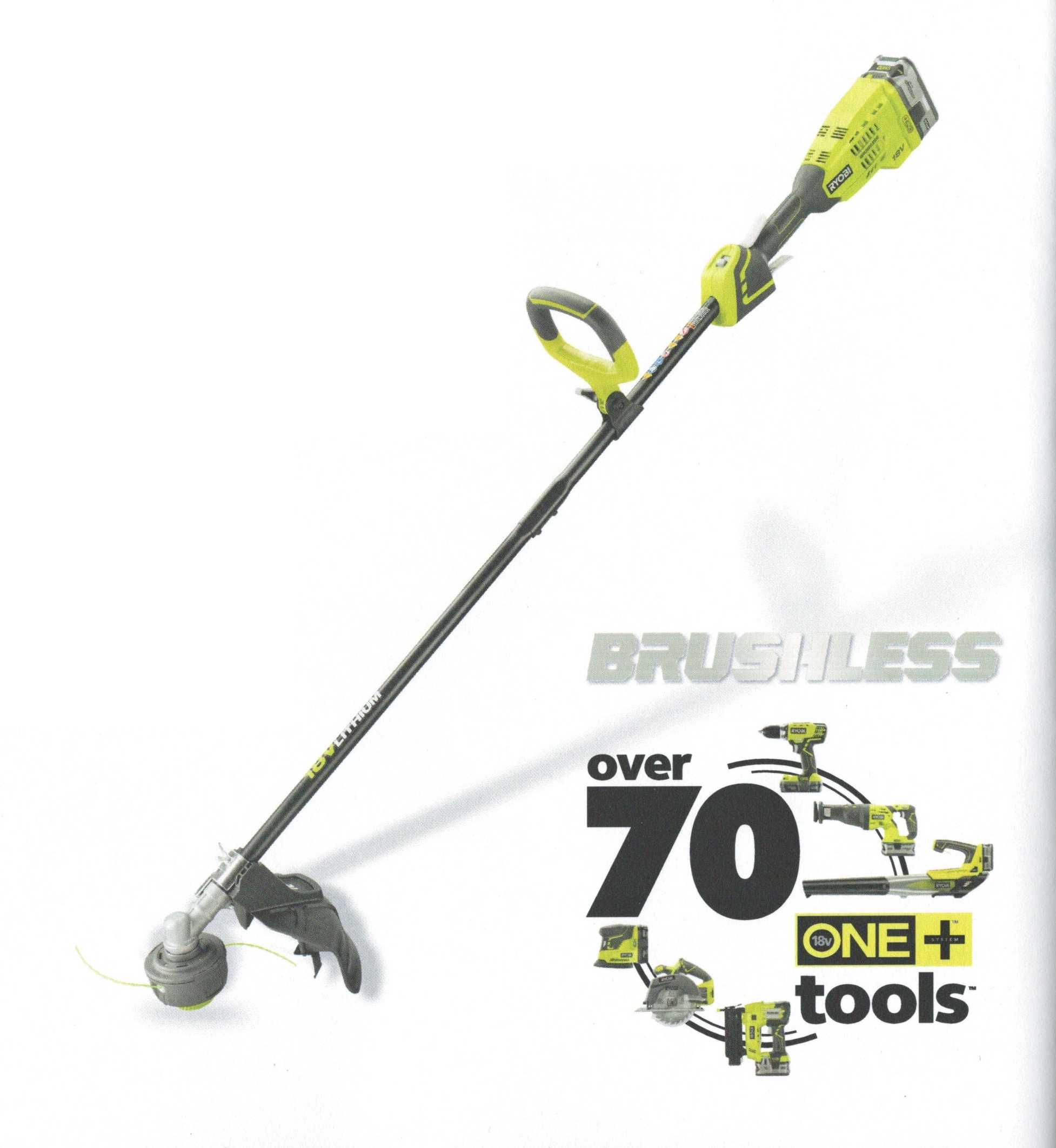 Spring 2017 Ryobi New Outdoor Power Equipment Tool Craze