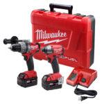 Deal – Milwaukee 1st Gen M18 Fuel Hammer Drill & Impact Driver Kit 2797-22 $225.59