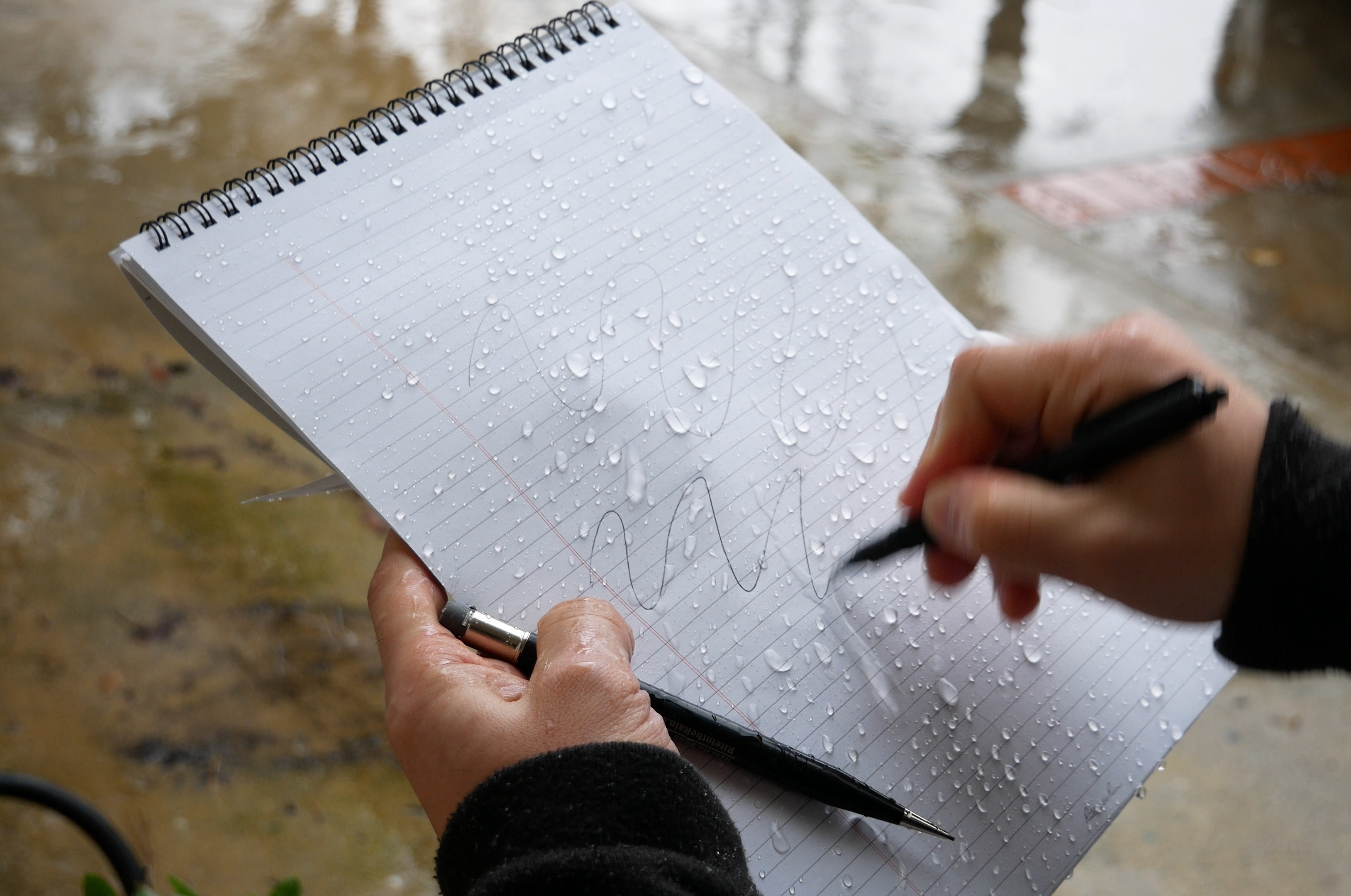Write in the rain paper