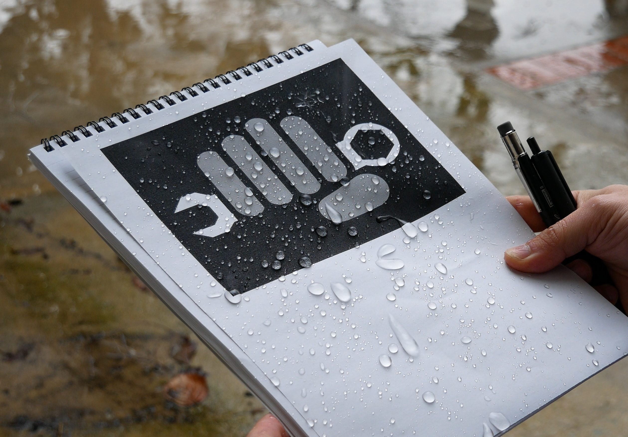 rite in the rain paper Rite in the rain is an environmentally responsible, all-weather writing paper that  sheds water and enables you to write anywhere, in any weather from the.