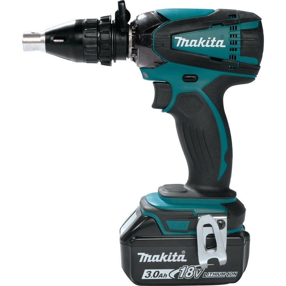 Here S A Neat Little Adapter From Makita That Fits Over Select Impact Drivers To Give Them The Functionality Of Drywall Gun