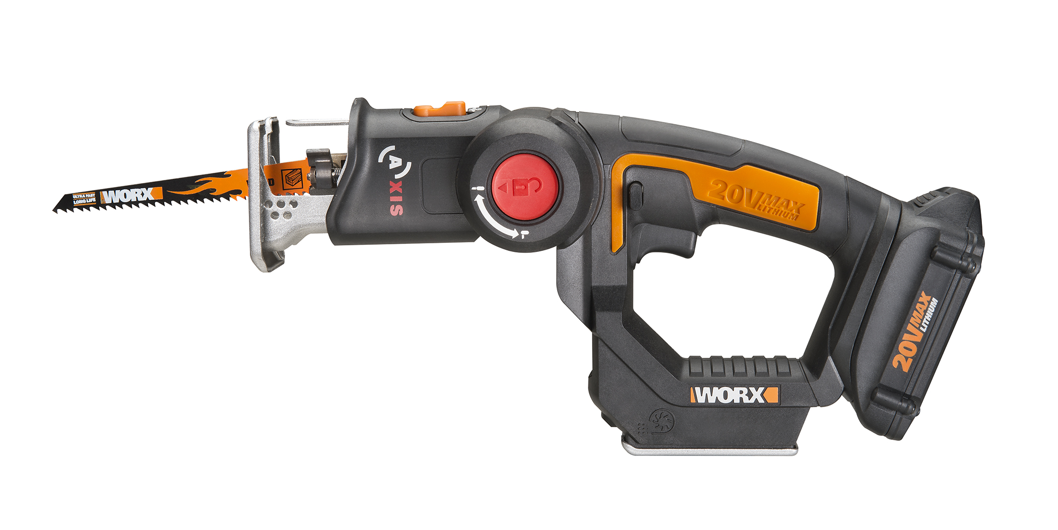 Worx 20v axis combines a recip saw and jigsaw into one tool tool whats neat about the worx axis is that it combines a recip saw and jigsaw into one tool its basically a handle with the motor mount and blade holder and greentooth Gallery