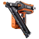 AEG / Ridgid 18V Brushless 15ga Angled Finish Nailer