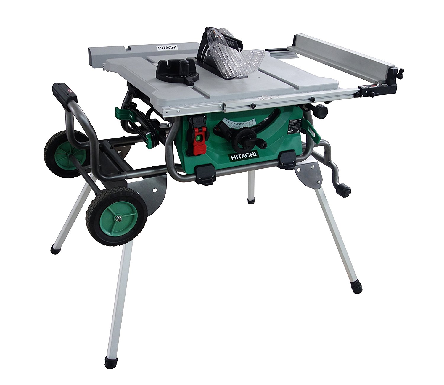 Hitachi C10rj 10 Quot 15 Amp Table Saw With 35 Quot Rip Capacity