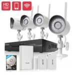 Expired Deal – Funlux 4CH Wireless Security Camera System $175.99