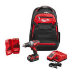 Deal – Milwaukee 18-Volt Drill Driver Backpack Starter Kit $129.99
