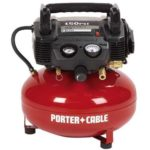 Deal – Porter Cable 150 PSI 6-Gallon Electric Pancake Style Air Tool Compressor $79.99