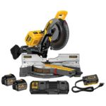 "Deal – DEWALT 12"" Sliding Miter Saw Kit DHS790AT2 $679.99"