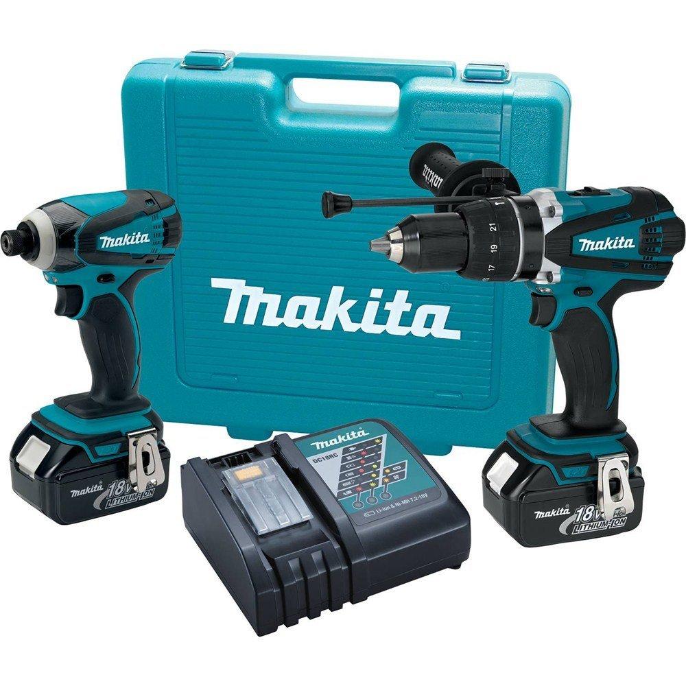 Deal Makita Xt218 18v Lxt Lithium Ion Cordless Combo Kit