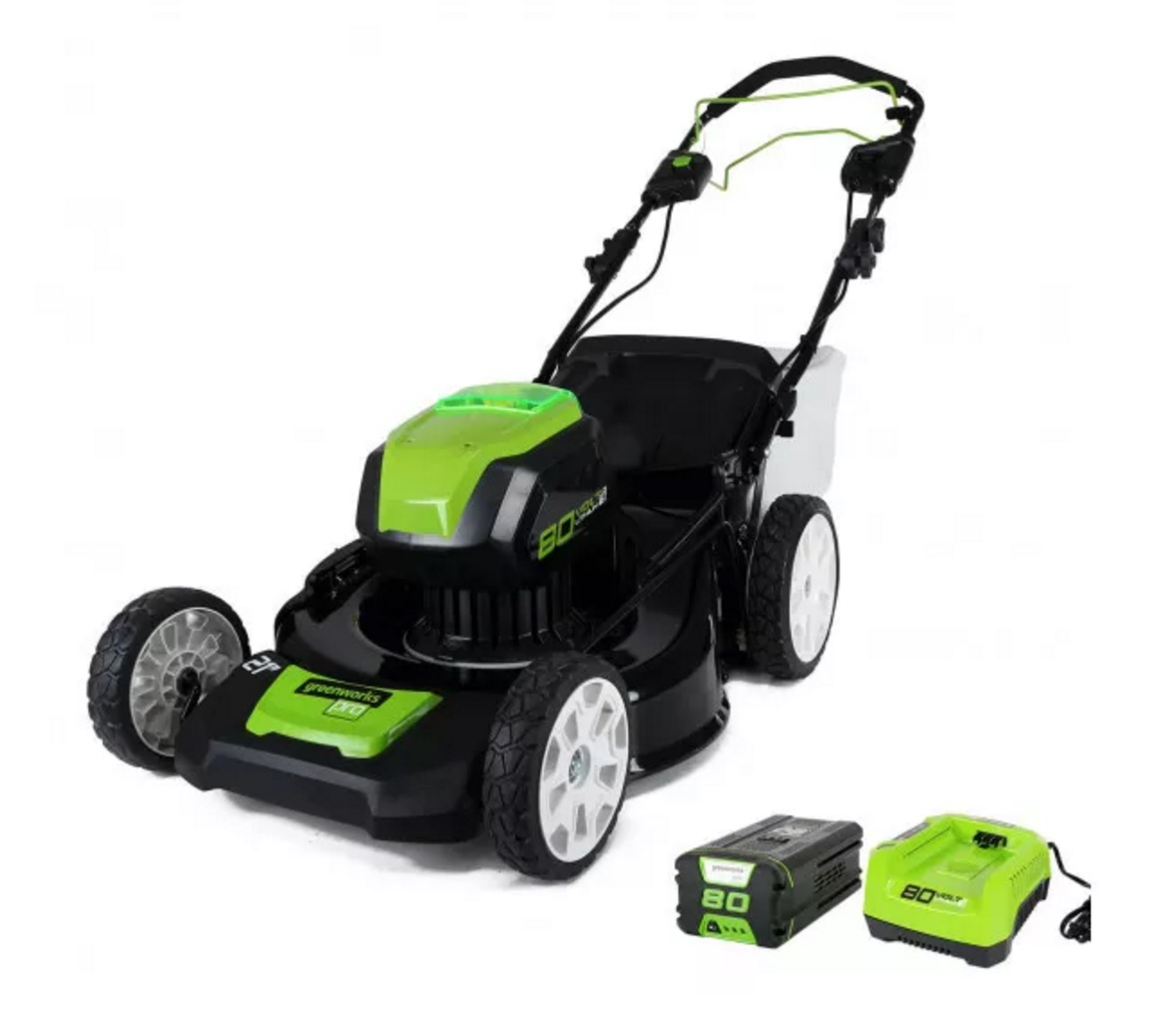 Greenworks 80v Brushless 21 Inch Self Propelled Lawn Mower
