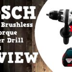 Bosch 18V EC Brushless Brute Tough HDH183 Hammer Drill Video Review