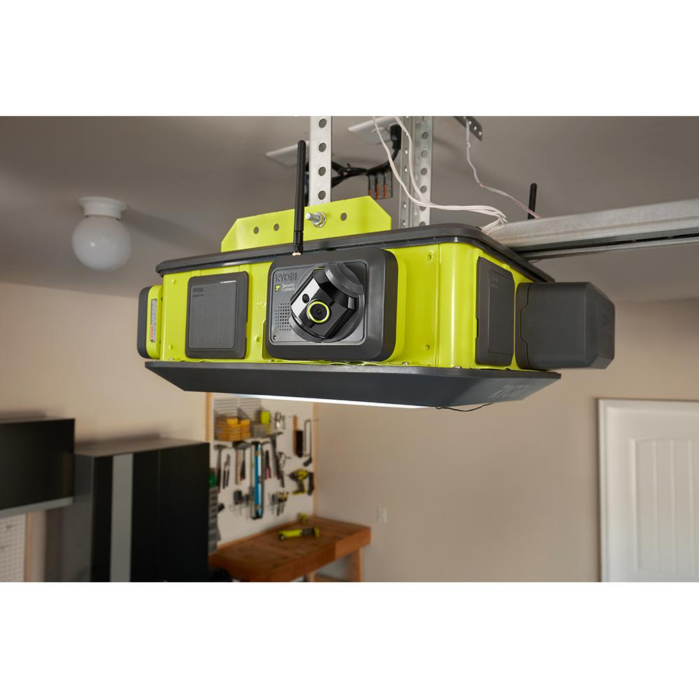 introducing the garage security camera accessory this unit is compatible with the ryobi ultraquiet garage door opener gd200a