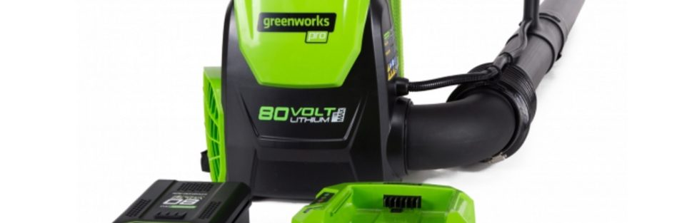 Greenworks 80V Pro Brushless Backpack Blower puts out 580 CFM at 145 MPH