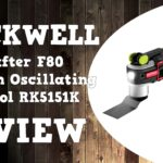 Rockwell Sonicrafter F80 Duotech Oscillating Multitool Video Review