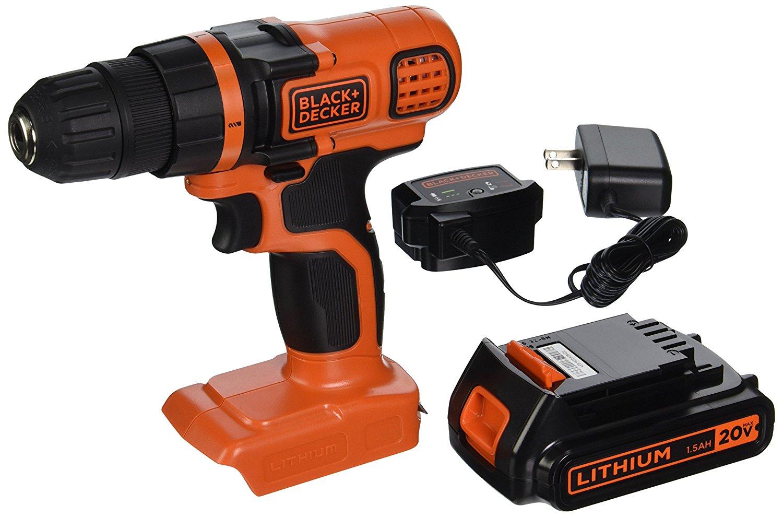 Deal – Black + Decker 20V Drill Kit $34.49 Today Only 6/15