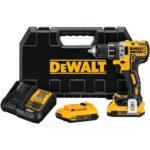 Deal – DEWALT DCD791D2 20V 1/2″ Brushless Compact Drill Kit $159