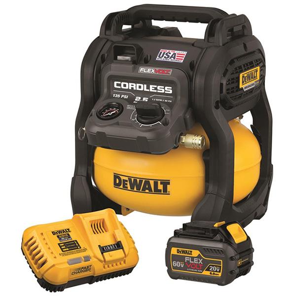 Dewalt Flexvolt 60v Cordless 2 5 Gallon Air Compressor Dcc2560t1 Tool Craze