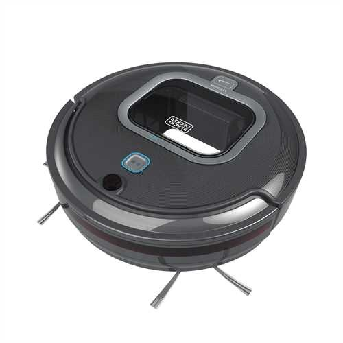 Black + Decker Lithium Robotic Vacuum with LED and SMARTECH Does all the Work