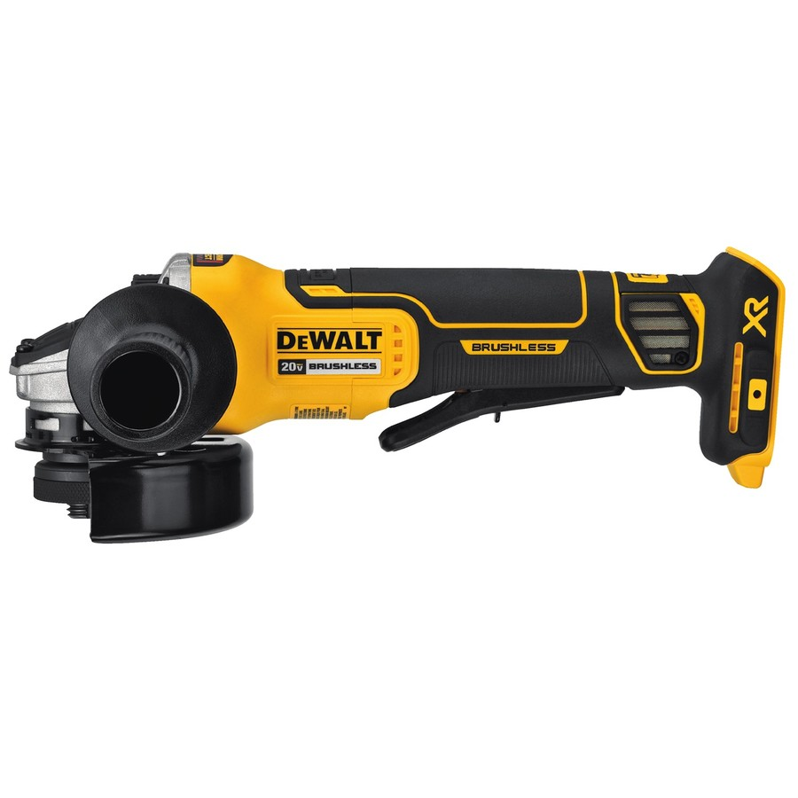 dewalt 20v brushless 4 1 2 angle grinder dcg413 is a sure. Black Bedroom Furniture Sets. Home Design Ideas