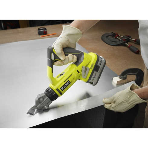 Ryobi P591 18v 18 Gauge Offset Shear Spotted Tool Craze