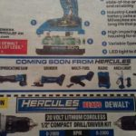 Hercules 20V Will Release More Cordless Tools Soon