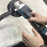 Makita 18V 5 inch Variable Speed Angle Grinder Spotted
