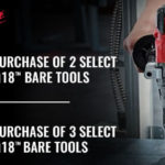 Deal – Up to 20% off select Milwaukee Bare Tools