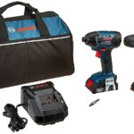 Deal – Bosch 2-Tool Combo Kit with (2) 2.0 Ah Batteries $129 today only 8/14/17