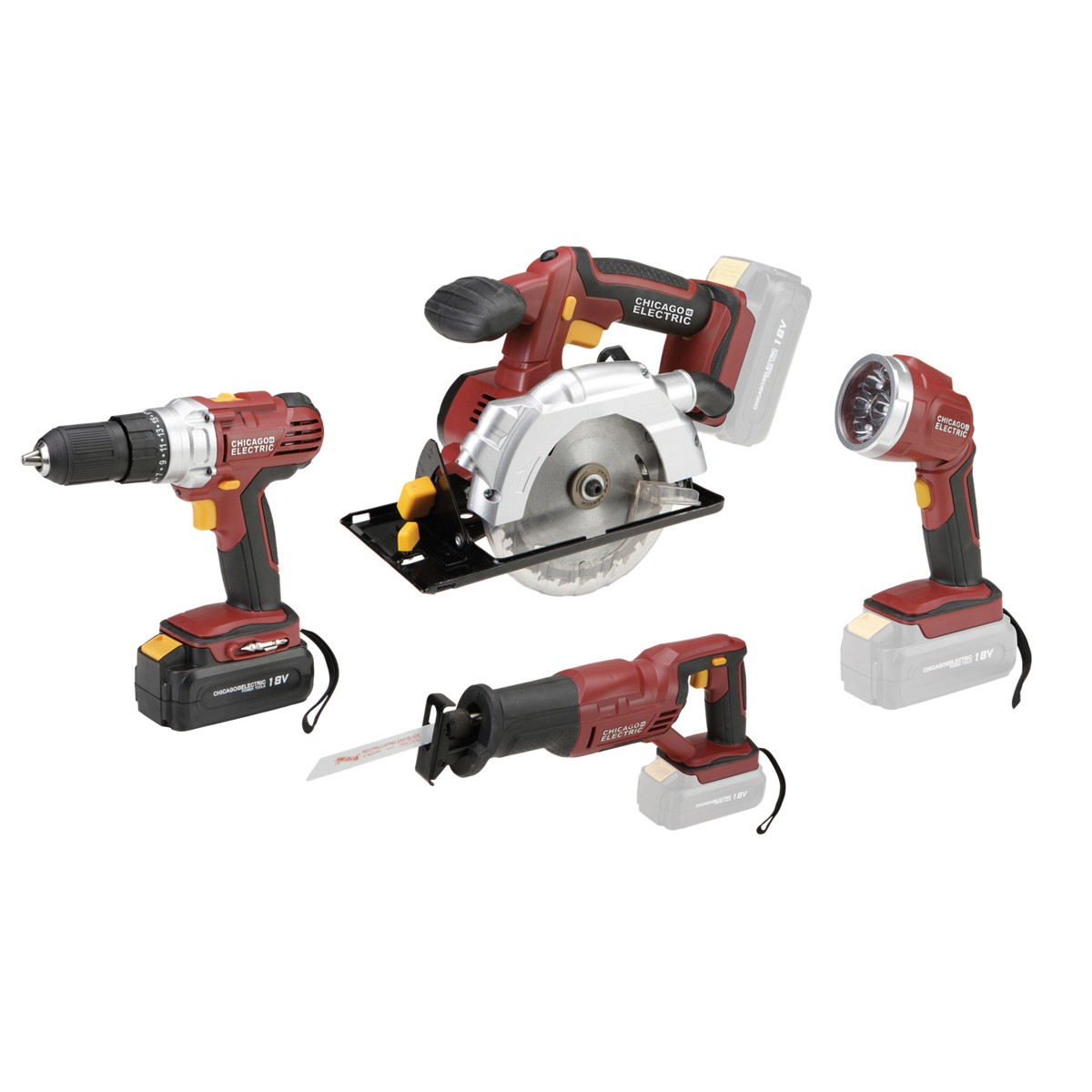 Soon After Reading His Comment I Visited The Harbor Freight Website To See If They Still Had Chicago Electric 18v Impact Driver Or Any Other