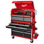 Milwaukee 46″ High Capacity Steel Storage Chest and Cabinet Combo