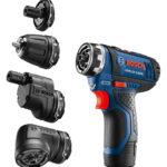 Bosch GSR12V-140FC 12V FlexiClick 5 In 1 Drill Driver