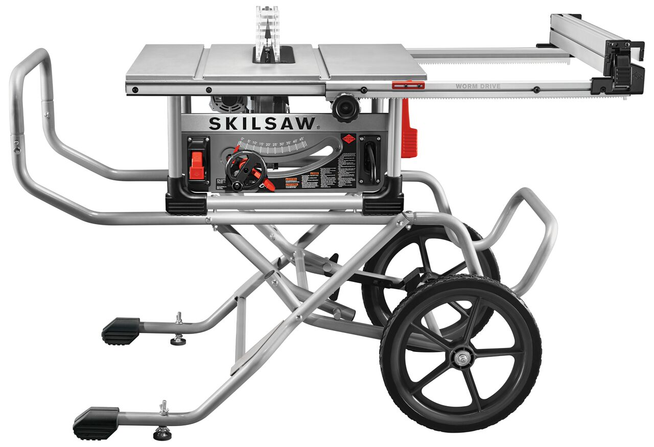 Table Saw Heavy Duty : Skilsaw quot heavy duty worm drive table saw tool craze