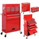 Deal- Goplus Rolling Tool Storage Cabinet With Sliding Drawers $109.99