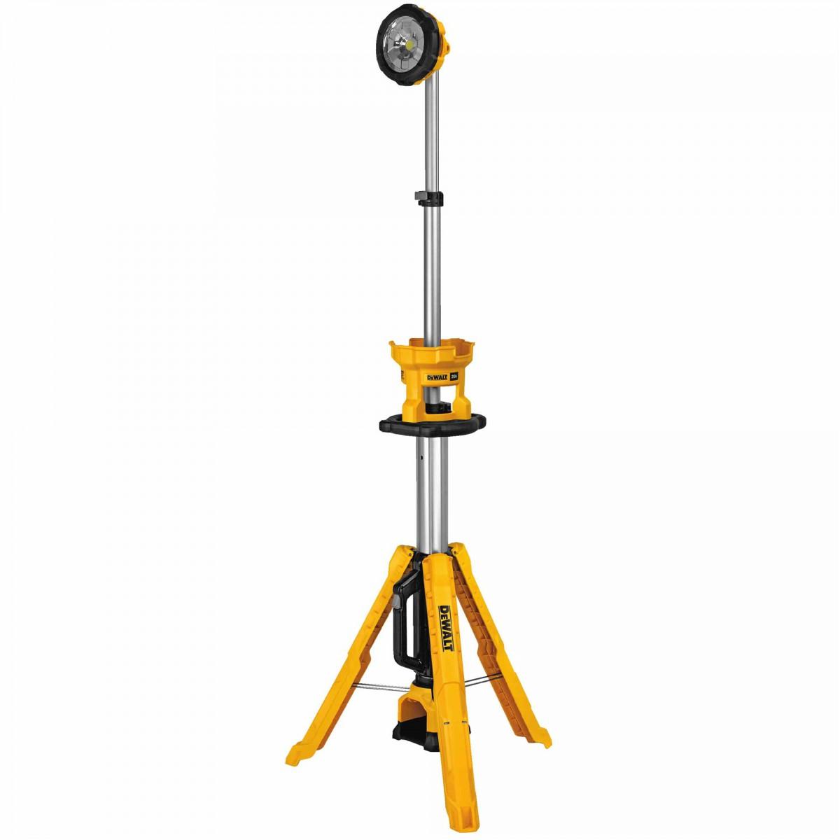 Dewalt 20v Cordless Tripod Light Dcl079b Dcl079r1 Tool Craze
