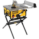 Deal- DEWALT Compact Job Site Table Saw with Guarding System and Stand $329