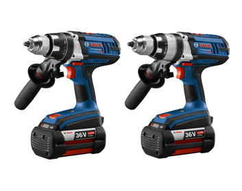 Bosch Releases New 36V Brute Tough Drill and Hammer Drill