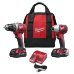Deal- Milwaukee M18 18v Compact Drill & Impact Driver Combo Kit $134.99