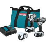Deal- Makita CT322W 18V LXT Lithium-Ion Compact Cordless 3-Pc. Combo Kit $149