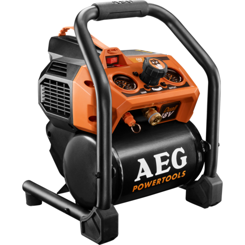 Aeg Dual 18v Brushless 3 8l Air Compressor Tool Craze