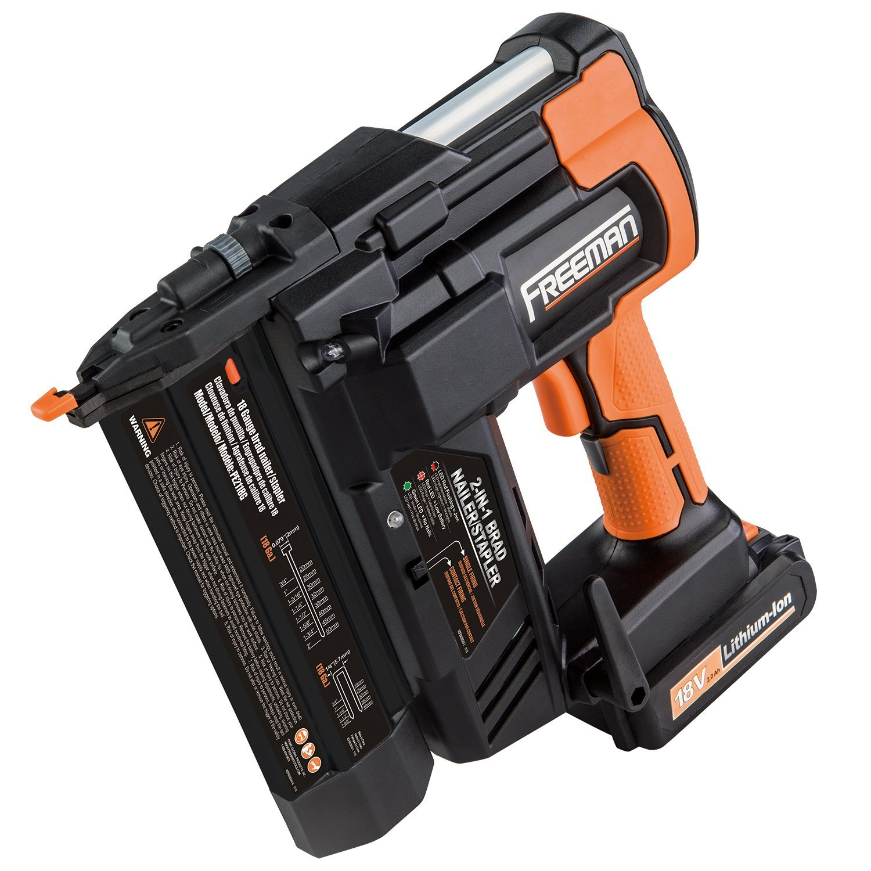 Freeman PE2118G 18V 2in1 18 Gauge Cordless Nailer & Stapler - Tool Craze
