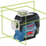 Bosch GLL3-330CG (green beam), GLL3-330C (red beam) and GLL3-300 (red beam) 360° Three-Plane Leveling and Alignment Line Lasers offer precision and convenience