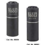Klein Tools Reduces Time Required on the Job with New Multi-Size Impact Sockets