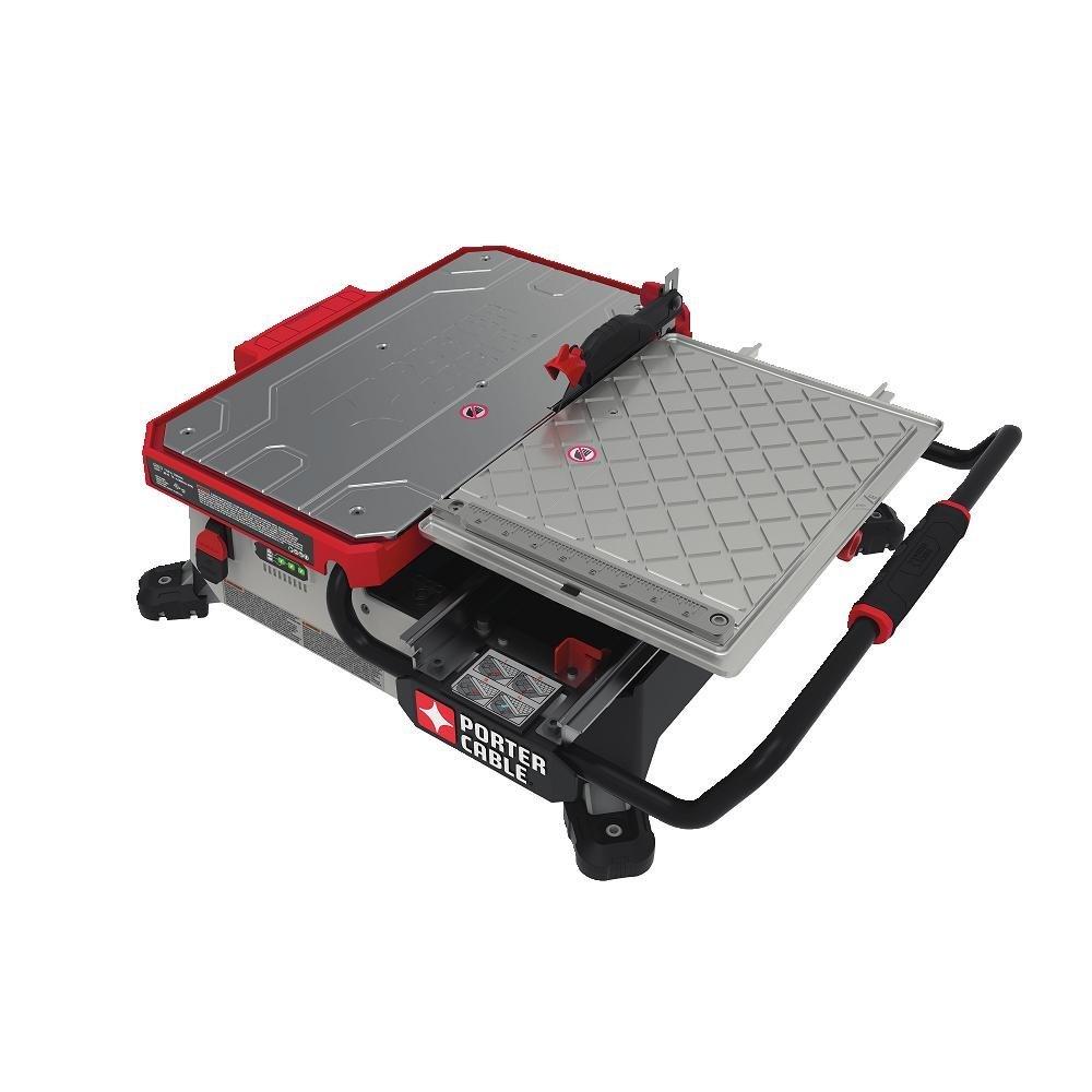 Porter Cable Pcc780la Cordless 20v 7 Quot Sliding Table Top