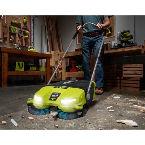 Ryobi 18V P3260 Devour Cordless Sweeper - Tool Craze