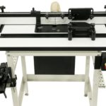 """New JET Router Table system including the 32"""" x 24"""" Cast Iron Table Kit 737000CK & 32"""" x 24"""" MDF Table Kit 737000WK"""