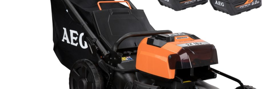 AEG 2 X 18V 36V Brushless Fusion 18″ Lawn Mower
