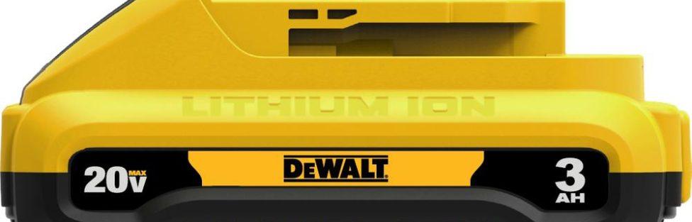 Dewalt DCB230 20V Compact 3.0 Ah Battery – Same Runtime as DCB200 But Smaller & Lighter