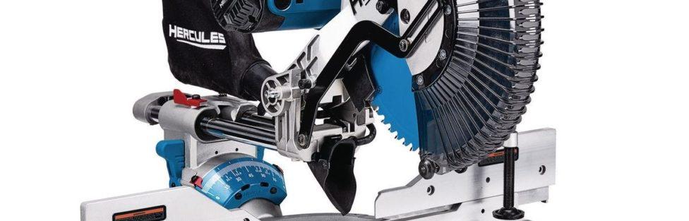 Hercules Professional 12″ Double Bevel Sliding Miter Saw – Is It A Dewalt DWS780 Clone?