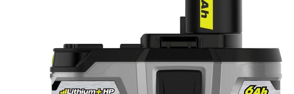 USA Ryobi 18V 6.0 ah Lithium+ HP Battery P164 Is Finally Here!