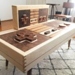 Woodworking Nintendo Controller Table & Wall Art